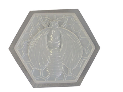Bumble Bee Concrete Plaster Stepping Stone Mold 1060