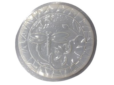Dragonfly Concrete Plaster Stepping Stone Mold 1106