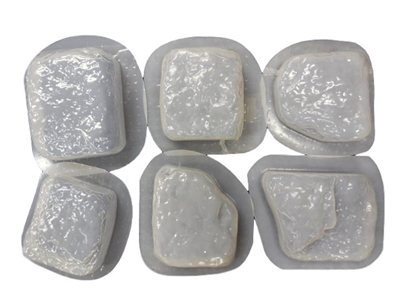 Rock Look Mold Set Of 6 Concrete Stepping Stone Molds 2031