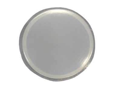 12 Inch Round Smooth Plain Mosaic Concrete Or Plaster