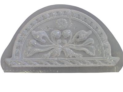 Roman Floral Wall Plaque Concrete Or Plaster Mold 7058