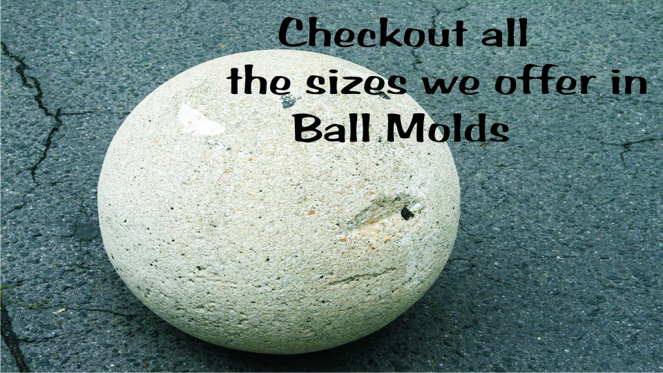 Ball Mold For Concrete Ball Molds