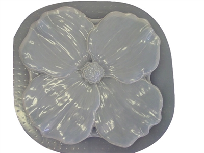 Dogwood Flower Concrete Stepping Stone Mold 1137