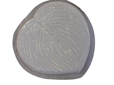 Hosta Leaf Stepping Stone Concrete Mold 1197