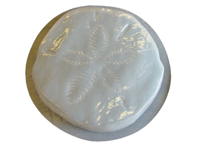 Sand Dollar 13in Stepping Stone Concrete Mold 1255