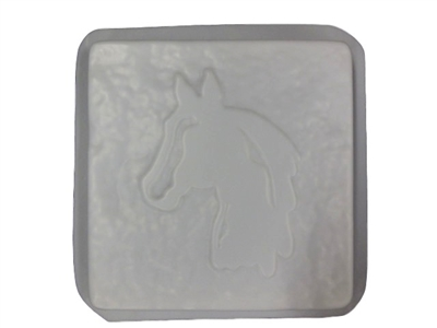 Horse Head Concrete Stepping Stone Mold 1289 Moldcreations