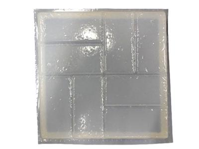 12 Inch Square Brick Design Concrete Stepping Stone Mold