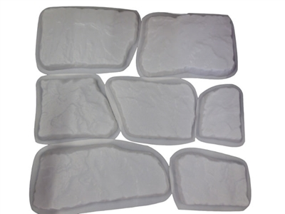 Flagstone Stepping Stone 7 Pc Concrete Molds Set 2026