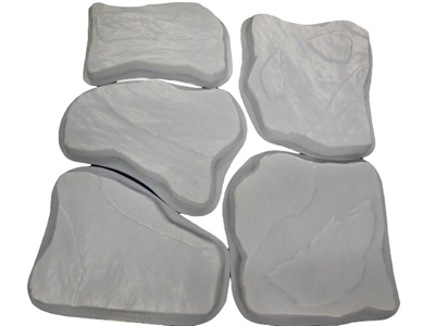 Flagstone Concrete Stepping Stone Mold Set 2041