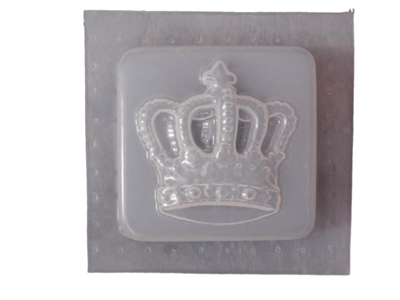Crown Soap or Plaster Mold 4627