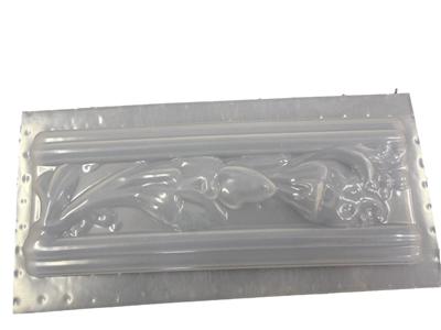 Floral Design Tile Border Concrete Or Plaster Mold 6004