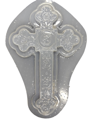 Decorative Cross Concrete Or Plaster Mold 7030 Moldcreations