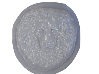 Lion Head Face Concrete Or Plaster Mold 7032 Moldcreations