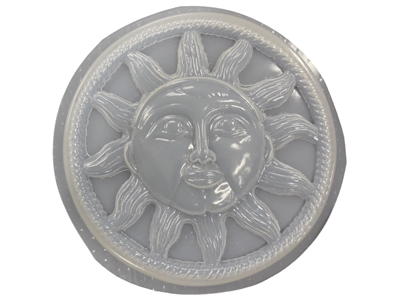 Sun Stepping Stone Concrete Or Plaster Mold 7035