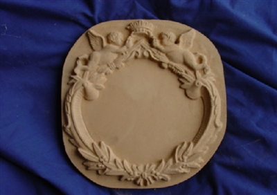 Decorative Angels Concrete Or Plaster Mold 7165