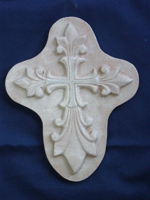 Decorative Cross Concrete Or Plaster Mold 7226 Moldcreations