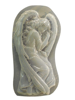 Decorative Angel Laying Concrete Or Plaster Mold 7261